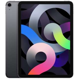 【SIMフリー】iPad Air 第4世代 10.9インチ Wi-Fi + Cellularモデル 256GB - スペースグレイ 【2020年モデル】 [256GB]