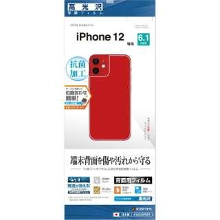 iPhone 12/12 Pro 6.1インチ対応 フィルム 背面専用 高光沢 P2562IP061