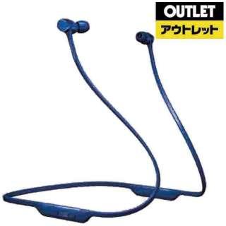 【アウトレット品】 bluetoothイヤホン カナル型 ブルー PI3/BU [リモコン・マイク対応 /ワイヤレス(ネックバンド) /Bluetooth] 【外装不良品】
