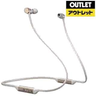 【アウトレット品】 bluetoothイヤホン カナル型 ゴールド PI3/G [リモコン・マイク対応 /ワイヤレス(ネックバンド) /Bluetooth] 【外装不良品】