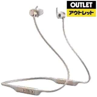 【アウトレット品】 bluetoothイヤホン カナル型 ゴールド PI4/G [リモコン・マイク対応 /ワイヤレス(ネックバンド) /Bluetooth /ノイズキャンセリング対応] 【外装不良品】