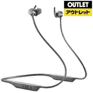 【アウトレット品】 bluetoothイヤホン カナル型 シルバー PI4/S [リモコン・マイク対応 /ワイヤレス(ネックバンド) /Bluetooth /ノイズキャンセリング対応] 【外装不良品】
