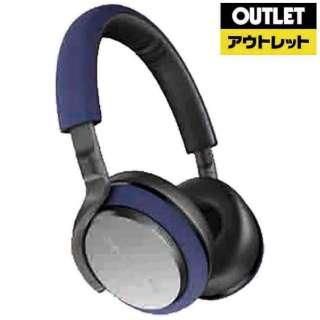 【アウトレット品】 ブルートゥースヘッドホン PX5/BU ブルー [リモコン・マイク対応 /Bluetooth /ノイズキャンセリング対応] 【外装不良品】