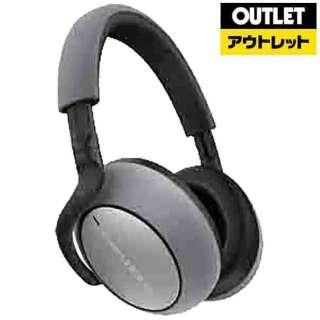 【アウトレット品】 ブルートゥースヘッドホン PX7/S シルバー [リモコン・マイク対応 /Bluetooth /ノイズキャンセリング対応] 【外装不良品】