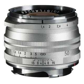 カメラレンズ NOKTON Vintage Line 50mm F1.5 Aspherical II MC(マルチコーティング)【VMマウント】 シルバー [ライカM /単焦点レンズ]