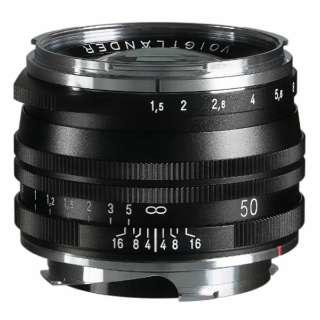 カメラレンズ NOKTON Vintage Line 50mm F1.5 Aspherical II MC(マルチコーティング)【VMマウント】 ブラック [ライカM /単焦点レンズ]