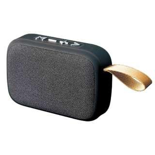 ワイヤレスミニスピーカー KABS-026B [Bluetooth対応]
