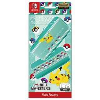 ポケットモンスター スリムハードケース for Nintendo Switch Lite CSH-102-1 【Switch Lite】