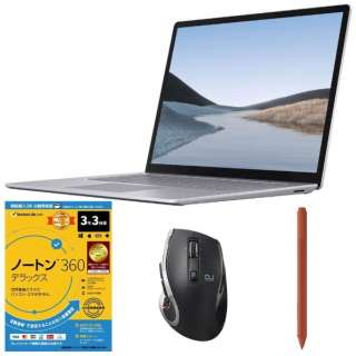 SurfaceLaptop3 [15.0型 /SSD 512GB /メモリ 16GB /AMD Ryzen 7 /プラチナ/2019年] VFL-00018 ノートパソコン サーフェスラップトップ3 + Surface Pen + ワイヤレスマウス + セキュリティソフト