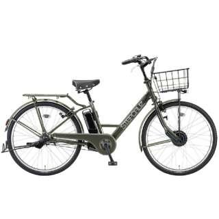 電動アシスト自転車 ステップクルーズe T.Xマットカーキ ST6B41 [26インチ /3段変速] 【組立商品につき返品不可】