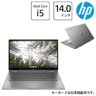 1P6N1PA-AAAA ノートパソコン HP Chromebook x360 14c-ca0012TU [14.0型 /intel Core i5 /eMMC:128GB /メモリ:8GB /2020年9月モデル]