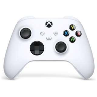 【純正】Xbox ワイヤレス コントローラー(ロボット ホワイト) QAS-00005 QAS-00005