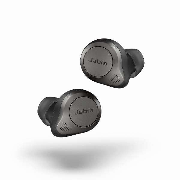 フルワイヤレスイヤホン Elite 85t チタニウムブラック 100-99190000-40 [リモコン・マイク対応 /ワイヤレス(左右分離) /Bluetooth /ノイズキャンセリング対応]