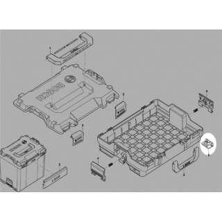 ボッシュ スタッキングL-BOXX 1600A0192D