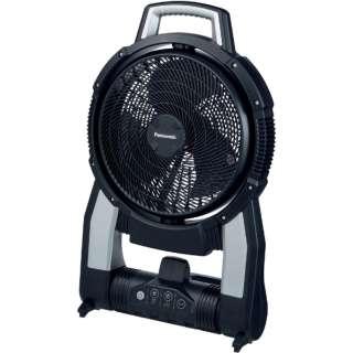 Panasonic デュアル 工事用 充電 扇風機 EZ37A4-B