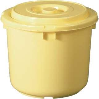 TONBO 漬物容器15型(フタ付) クリーム 01015