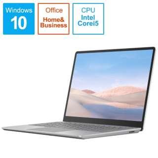 THH-00020 Surface Laptop Go(サーフェス ラップトップ ゴー) プラチナ [12.4型 /intel Core i5 /SSD:128GB /メモリ:8GB /2020年10月モデル]