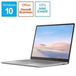 THJ-00020 Surface Laptop Go(サーフェス ラップトップ ゴー) プラチナ [12.4型 /intel Core i5 /SSD:256GB /メモリ:8GB /2020年10月モデル]