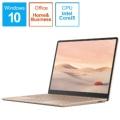 THJ-00045 Surface Laptop Go(サーフェス ラップトップ ゴー) サンドストーン [12.4型 /intel Core i5 /メモリ:8GB /SSD:256GB /2020年10月モデル]