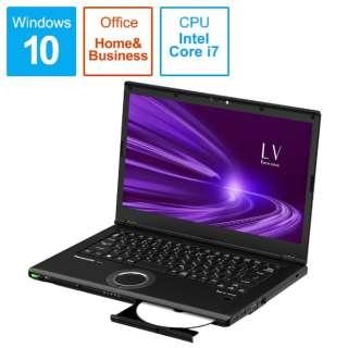 CF-LV9EDNQR ノートパソコン レッツノート LVシリーズ ブラック [14.0型 /intel Core i7 /SSD:512GB /メモリ:8GB /2020年10月モデル]