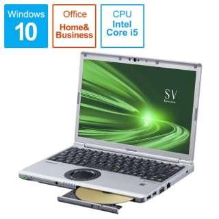 CF-SV9ADMQR ノートパソコン レッツノート SVシリーズ ブラック&シルバー [12.1型 /intel Core i5 /SSD:256GB /メモリ:16GB /2020年10月モデル]