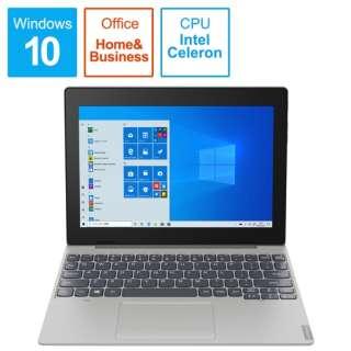 82H0000BJP ノートパソコン IdeaPad D330(セパレート型) ミネラルグレー [10.1型 /intel Celeron /eMMC:128GB /メモリ:4GB /2020年10月モデル]