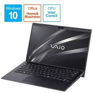 ノートパソコン VAIOSX14 ブラック VJS14390211B [14.0型 /intel Core i5 /SSD:256GB /メモリ:8GB /2020年10月モデル]
