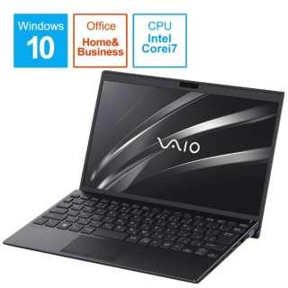 ノートパソコン VAIOSX12 ブラック VJS12390111B [12.5型 /intel Core i7 /SSD:256GB /メモリ:8GB /2020年10月モデル]