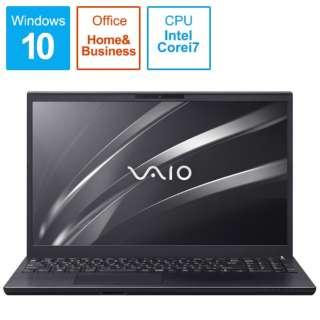 ノートパソコン VAIOS15 ブラック VJS15490511B [15.6型 /intel Core i7 /SSD:512GB /メモリ:16GB /2020年11月モデル]