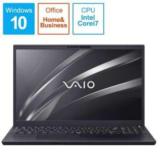 ノートパソコン VAIOS15 ブラック VJS15490611B [15.6型 /intel Core i7 /HDD:1TB /SSD:256GB /メモリ:8GB /2020年11月モデル]