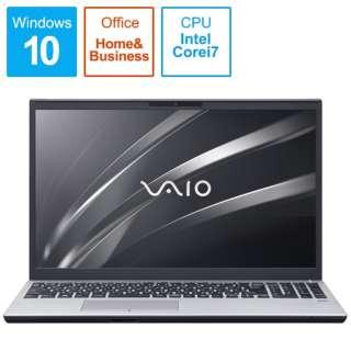 ノートパソコン VAIOS15 シルバー VJS15490711S [15.6型 /intel Core i7 /HDD:1TB /SSD:256GB /メモリ:8GB /2020年11月モデル]
