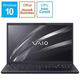 VJS15490811B ノートパソコン VAIO S15 ブラック [15.6型 /intel Core i5 /SSD:256GB /メモリ:8GB /2020年11月モデル]