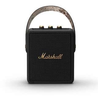 ブルートゥーススピーカー ブラック&ブラス STOCKWELLII-BLACK-AND-BRASS [Bluetooth対応]