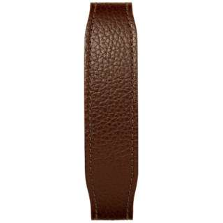 【wena3専用のアクセサリー】wena 3 leather band 22mm Brown ブラウン WNW-CB2122/T