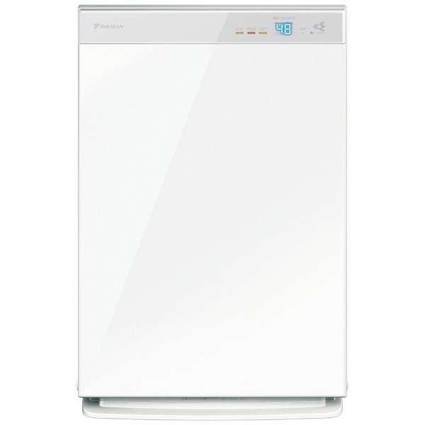 加湿空気清浄機 ホワイト MCK70XBK-W [適用畳数:31畳 /最大適用畳数(加湿):18畳 /PM2.5対応]