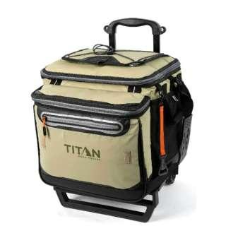 ローリング ジッパーレスクーラーバッグ TITAN DEEP FREEZE 60(50+10)CAN ROLLING COOLER(モス) 5-21580-15-0E【正規品】