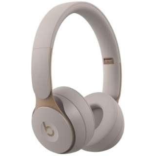 ブルートゥースヘッドホン Beats Solo Pro グレー MRJ82PA/A [リモコン・マイク対応 /Bluetooth /ノイズキャンセリング対応]