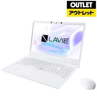 【アウトレット品】 PC-N1575AAW ノートパソコン LAVIE N15(N1575/AA) パールホワイト [15.6型 /intel Core i7 /SSD:512GB /メモリ:8GB /2020年夏モデル] 【生産完了品】
