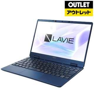 【アウトレット品】 PC-NM750RAL ノートパソコン LAVIE Note Mobile(NM750/RA) ネイビーブルー [12.5型 /intel Core i7 /SSD:512GB /メモリ:8GB /2020年春モデル] 【生産完了品】