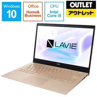 【アウトレット品】 PC-PM550NAG ノートパソコン LAVIE Pro Mobile フレアゴールド [13.3型 /intel Core i5 /SSD:256GB /メモリ:8GB /2019年5月モデル] 【生産完了品】