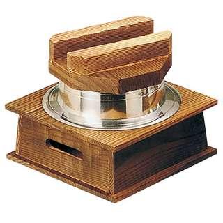 5合炊釜めしハカマセット(段付木蓋・1cm羽釜・ネズコ台) 33041 [17]