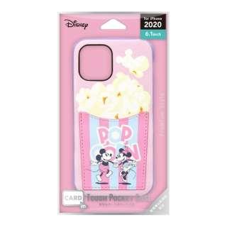 iPhone 12/12 Pro 6.1インチ対応タフポケットケース ミッキーマウス&ミニーマウス Premium Style PG-DPT20G03MM