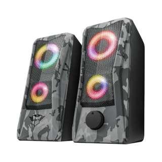 23379 PCスピーカー GXT 606 Javv RGB-Illuminated 2.0 Speaker Set [USB電源]