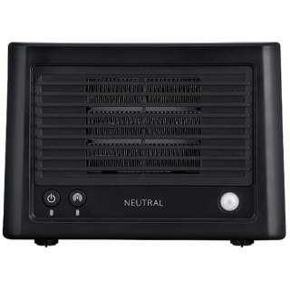 コンパクトセラミックヒーター NR-HTR01-BK [人感センサー付き]
