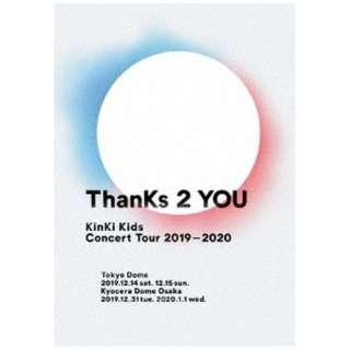 KinKi Kids/ KinKi Kids Concert Tour 2019-2020 ThanKs 2 YOU 通常盤 【DVD】
