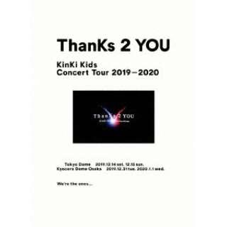 KinKi Kids/ KinKi Kids Concert Tour 2019-2020 ThanKs 2 YOU 初回盤 【ブルーレイ】