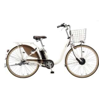電動アシスト自転車 FRONTIA フロンティアデラックス E.Xクリームアイボリー F6DB41 [3段変速 /26インチ] 【組立商品につき返品不可】