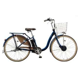 電動アシスト自転車 FRONTIA フロンティアデラックス E.Xノーブルネイビー F4DB41 [3段変速 /24インチ] 【組立商品につき返品不可】
