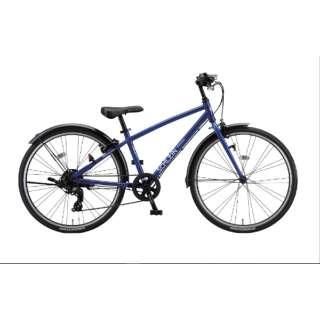 24型 子供用自転車 シュライン(F.Xグリッターブルー/外装7段変速) SHL41【2021年モデル】 【組立商品につき返品不可】