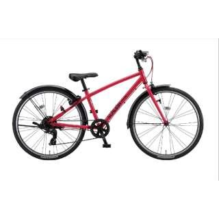 24型 子供用自転車 シュライン(F.Xピュアレッド/外装7段変速) SHL41【2021年モデル】 【組立商品につき返品不可】